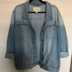 Anthropologie pilcro and letterpress Jean jacket
